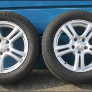 WEDS JOKER 16×6.5J +47 5H-114.3PCD DUNLOP エナセーブ 205/60R16 タイヤ・ホイールセット4本中古品 - 車のパーツ