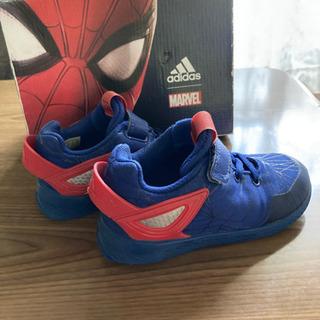 adidasスパイダーマン靴 15cm