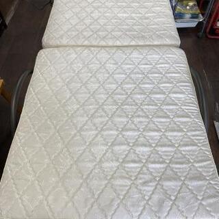 山善(YAMAZEN) 電動ベッド 折りたたみベッド スプリング...