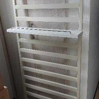 家具に設置できるパーテーションラック60cm幅 棚付き 【壁面収納】