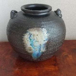 花瓶 壺 信楽焼?