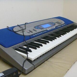 CASIO カシオ 光ナビゲーションキーボード 電子ピアノ LK-65