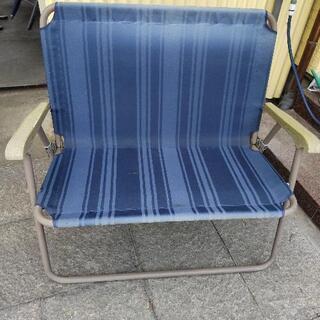 二人ベンチ(折り畳み式)