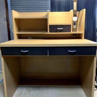 学習机・勉強机 3年ほど使用・中古品・B級品