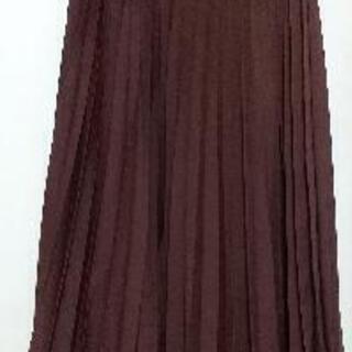 ユニクロ  アコーディオンプリーツロングスカート (未使用)