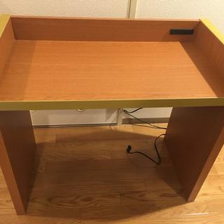 しっかりとした机