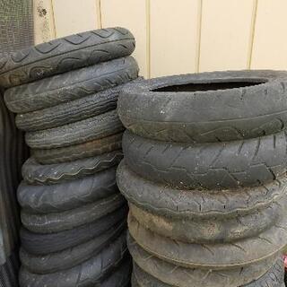 原付きの古タイヤ、引き取ってくれる方、いませんか?