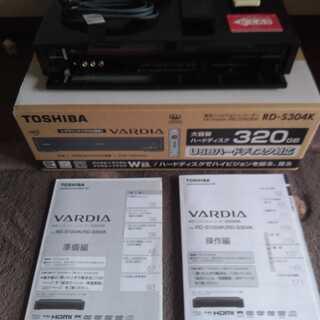 東芝 VARDIA RD-S304K HDD&DVDレコーダー(中古)