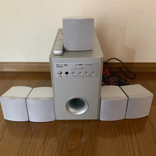 【ネット決済・配送可】5.1chホームシアタースピーカーシステム