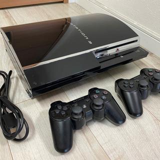 【ネット決済・配送可】PlayStation3本体(コントローラ...
