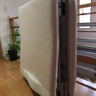 【ネット決済】シングルベッド 折り畳み