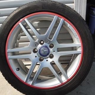 メルセデスベンツ W204 AMGパッケージ ホイール 17イン...