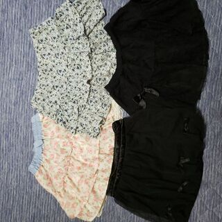 女の子→夏物スカート①サイズ→140