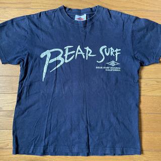 Bear Surf Boards Tシャツ 紺 Mサイズ