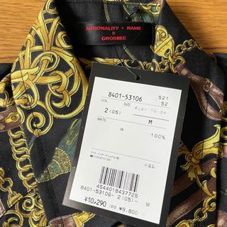 GROSBEC 半袖シャツ 未使用タグ付 Mサイズ