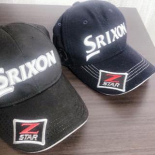 SRIXON ゴルフキャップ2点セット
