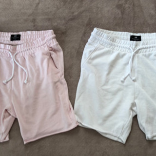 【ネット決済】H&M ショートパンツ ピンク・白