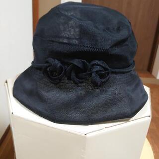 オーガンジーの帽子