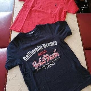 【ネット決済】男児120センチ EASTBOY Tシャツ 2枚