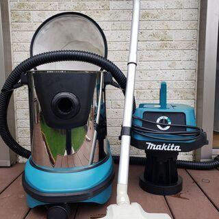 マキタの集塵機ほぼ新品です。建設関係内装業者さん必須の便利商品で...