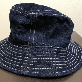 帽子 デニム生地