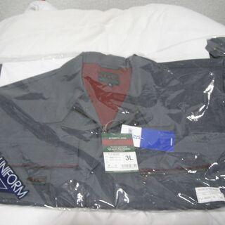 値下げ 作業服 冬用長袖ブルゾン  サイズ3L  未使用