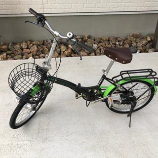 【ネット決済】折りたたみ自転車