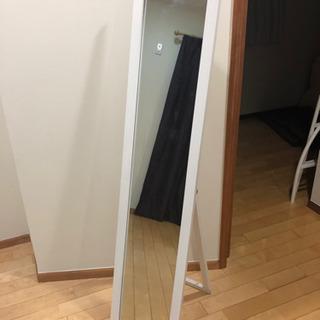 全身鏡 フランフラン 姿見 ホワイト