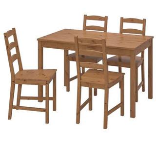 【6月末までの引取り希望】IKEA ダイニングテーブル2〜4名用