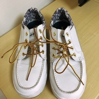 Ꭲimberland メンズ スニーカー 28cm  白