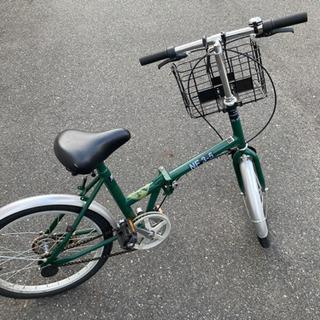 オシャレな折りたたみ自転車