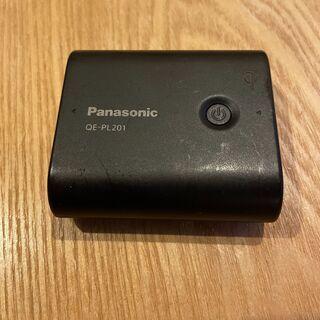 パナソニック製モバイルバッテリー Qi対応(ワイヤレス充電)