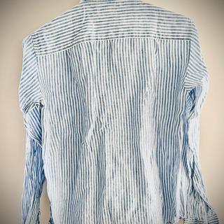 GU リネンブレンドシャツ