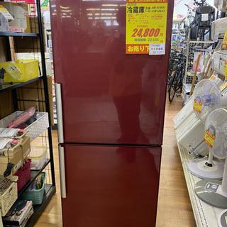 I377 AQUA 大きめ2ドア冷蔵庫 2013年式