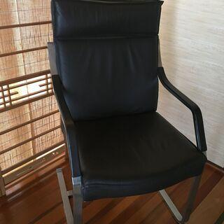 安定感のある椅子[2脚]