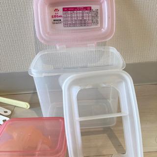 洗浄容器、ベビースプーン、哺乳瓶乳首