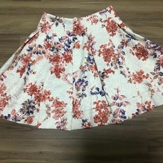 【DRWSYS】花柄フレアスカート