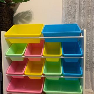 おもちゃ箱⭐︎おもちゃラック 美品