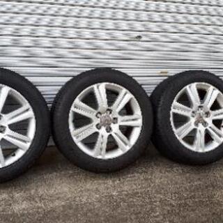 【ネット決済】Audi A4 純正OPホイール  225/50R...