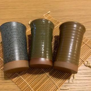 【ネット決済】和風 ビアグラス/和食器/土物コップ