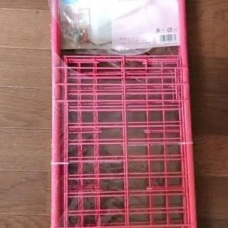 スチールラック ピンク キッチンワゴン ランドリー収納 キ…