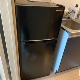【ネット決済】[中古]Grand-Line 冷蔵庫118L 2ド...