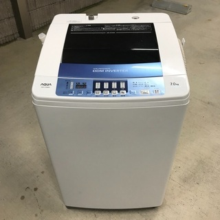 【分解洗浄済】2013年製 アクア 全自動洗濯機「AQW-V70...