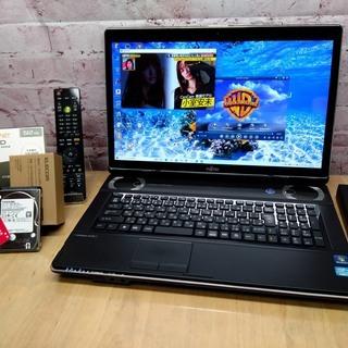 【快適17.3型◆地デジ視聴OK】新品SSD 512GB, HD...