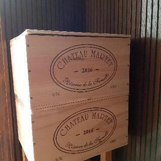 ワイン6本入り木箱
