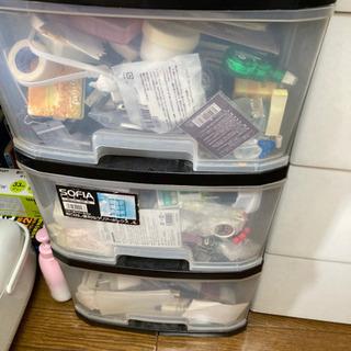 プラスチックケース2個