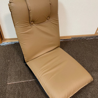 【あげます】座椅子 ほぼ未使用