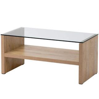 【ネット決済】【新品未使用】センターテーブル ガラステーブル