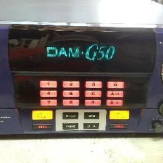 カラオケ DAM-G50 ジャンク 2台有ります。