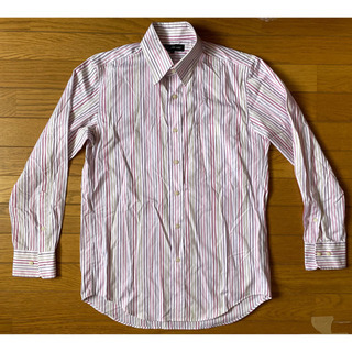 ユニクロ 長袖シャツ Mサイズ 難あり